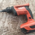 Hilti cordless drill 18v specially designed for the pros