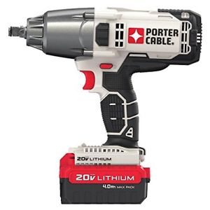 Porter Cable Pcc740la 1 2 Cordless Impact Wrench
